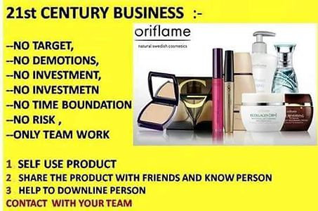 Online registeration for oriflame consultant