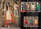 Pure Chanderi with embroidery salwar materials