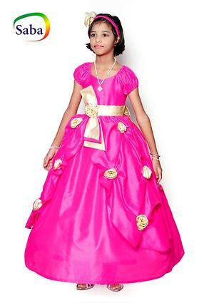 Saba Garments Girls Kids Party Wear Dress 1-2 Years to 11-12 Years