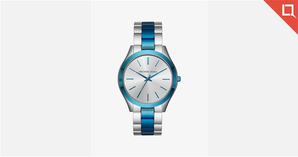 MICHAEL KORS Slim Runway Silver-Tone Watch