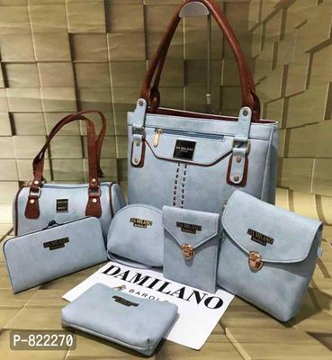 Damilano 🤗 Completely new model in market 😎😎😎😎😎 Leather look  7⃣⃣pc Combo
