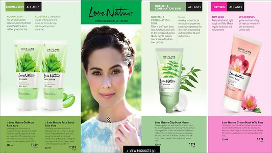 Skincare for all skin type