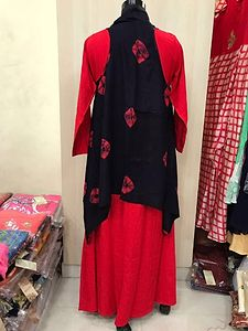 Floor length gown - Rayon