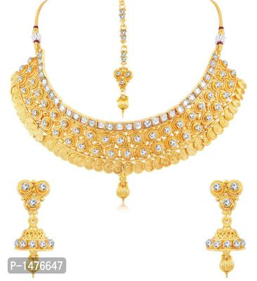 Appealing Gold Plated necklace set