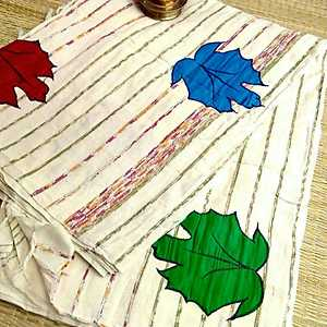 Kapass Khadi rs1800+shipping Running blouse piece Authentic organic khesh Sarees.....the fabric is completely different