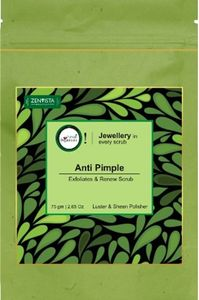 Forest Botanicals Anti Pimple Exfoliater and Renew Scrub