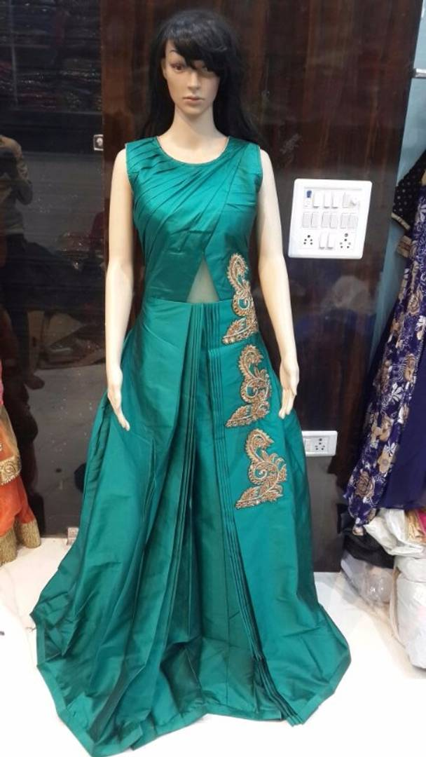 RESELLER WANTED Designer raw silk gown @ 3500+$ - Lavina Pandey ...