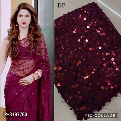Soft Net With Heavy Embroidery Work Designer Saree
