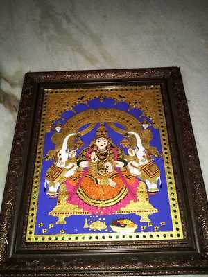 glass tanjore painting