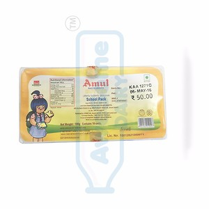Amul Pasteurised Butter 100g School Pack