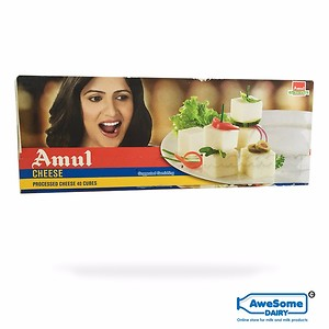Amul Cheese 40 Cubes