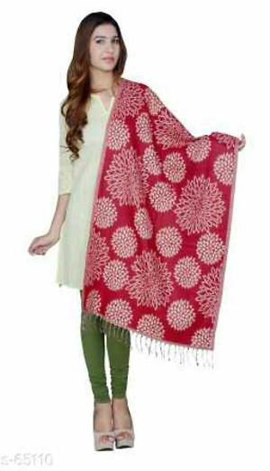 _Get this woolen shawls that is ideal for the changing weather especially for the coming winter season. The vivid design and multi-color infused in the shawls can be casually donned in casual evening