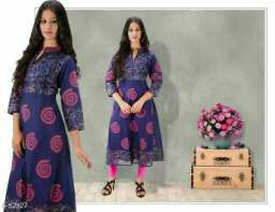 _New Rage in the Market!Premium Anarkali Style Kurtis for You! Look Stylish & Amazing in These!_