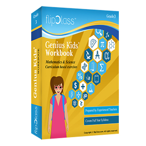 Genius' Kids Worksheets for Class 3(Set of 2 Worksheets) | Mathematics & Science