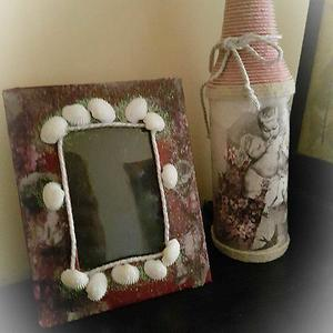 Lighted vase with PhotoFrame