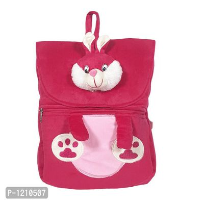 Bunny Face School Bag 14 Inches -Pink