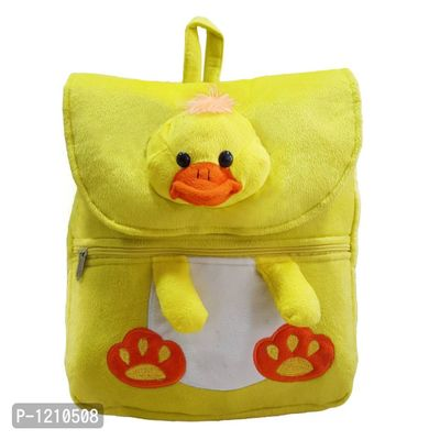 Duck Face School Bag 14 Inches - Yellow