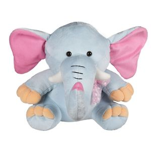 Ultra Baby Elephant Soft Toy 11 Inches - Light Grey
