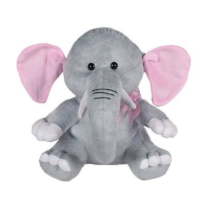 Baby Elephant Soft Toy 11 Inches - Grey