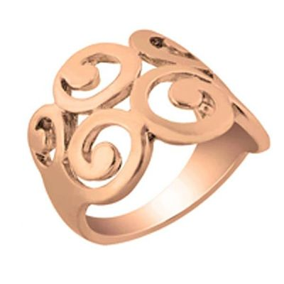 Zinc Alloy Gold Plated Ring
