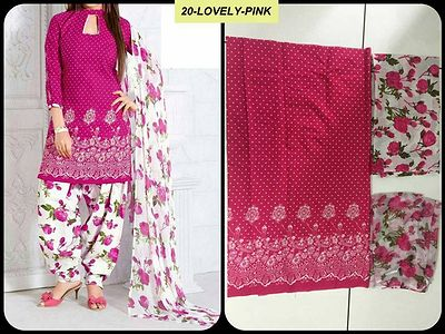 SSC cotton printed Dress Material