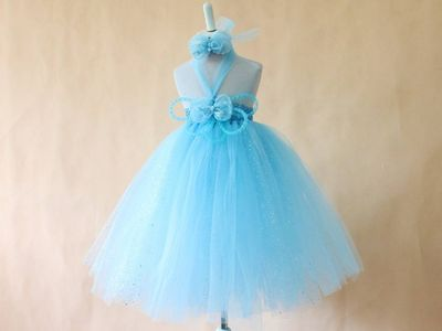 Baby Birthday Party Short Tutu Dress for Girls