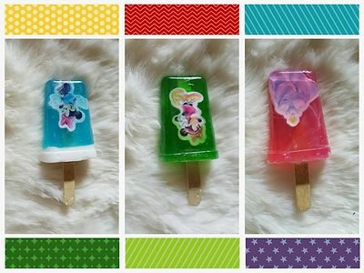 Ice candy soaps