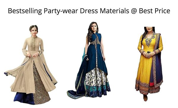 bestselling-party-wear-dress-materials-best-price