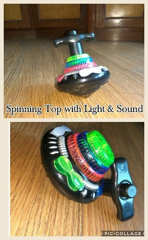 Spinning Top with Light & Sound