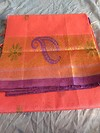 Light weight pure handloom kollam cotton silk sarees