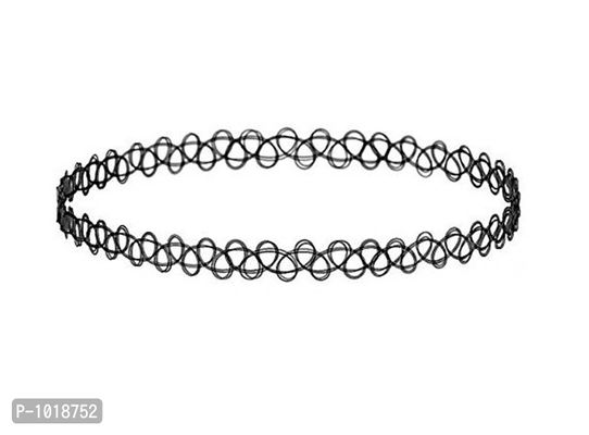 Stretch Tattoo Choker Necklace