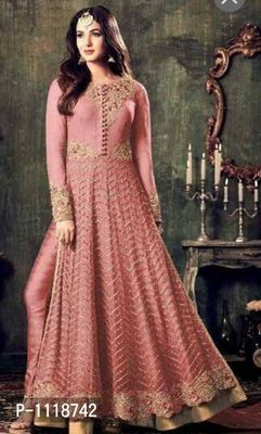 Net Party Wear Gown In Red Colour - Buy latest collections - Page 2 ...