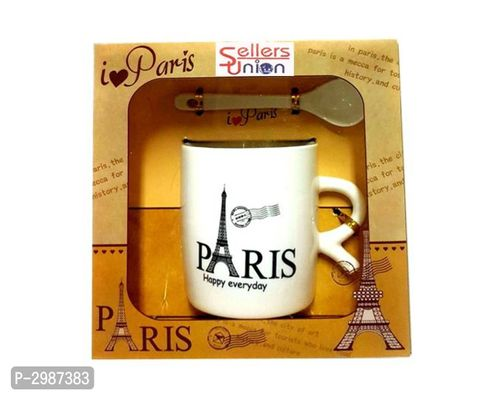 Sellers Union Designer Paris Printed Ceramic Gift Mug 250 Ml