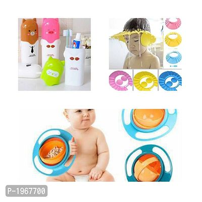 Kids Combo Collections of Bathing, Brushing and Food Cups