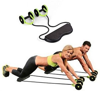 Revoflex Xtreme Abs Trainer Resistance Exerciser -Over 20 different workout postures.