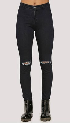 Extreme Ripped Ankle Length Skinny Fit Jeans