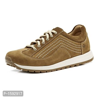 Tan Leather Lifestyle Shoes