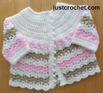 crochet sweater for babies and toddlers