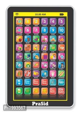 Black My Pad Mini English Learning Tablet for Kids - Indian Voice