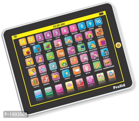 Black My Smart Pad English Learning Tablet For Kids - Indian Voice