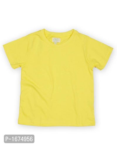 Solid Yellow Older Boys T Shirt