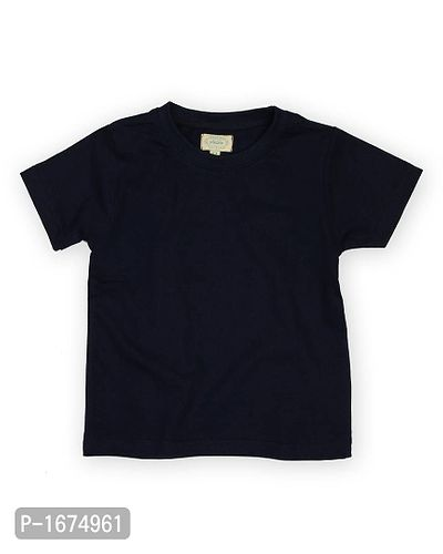 Solid Navy Older Boys T Shirt