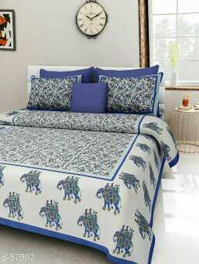 💰 *SASTA HAFTA SALE* 💰  😍 _Get 25% OFF On These Products From 30th May -5th June_😍  _Decor your rooms and your homely ambiance with the COTTON-made double bedsheets. Live in a house where you