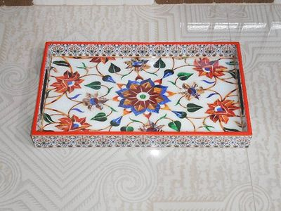 MDF PRINTED TRAY OR ENAMEL COATED WOODEN TRAY