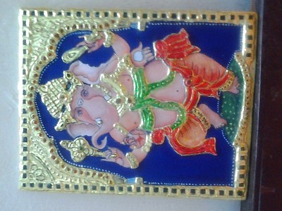 Tanjore gold painting