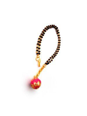 Fancy Designer Adjustable Size Bracelet Mangalsutra For Women  MB-114
