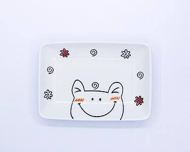 Miniso Cute Frog Snack Plate(3 PAC)
