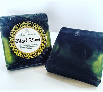Black Bliss - Handmade Exfoliating Activated Charcoal Soap