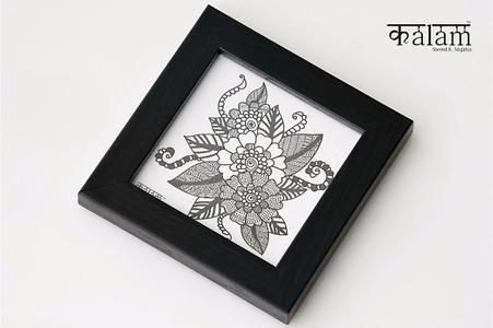 KALAM FLOWER BOUQUET COASTER