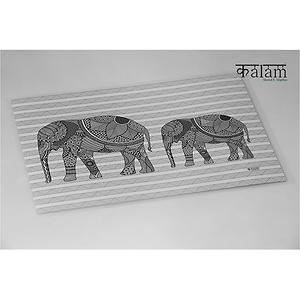 KALAM ELEPHANT TABLE MAT